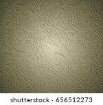 paisley seamless background... | Shutterstock .eps vector #656512273
