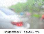 background with car window... | Shutterstock . vector #656518798