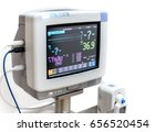 electrocardiographic monitoring ... | Shutterstock . vector #656520454