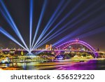 colourful illumination of... | Shutterstock . vector #656529220
