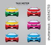 bangkok  thailand   thai taxi...   Shutterstock .eps vector #656542753