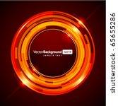abstract retro technology... | Shutterstock .eps vector #65655286