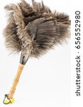 feather duster against white... | Shutterstock . vector #656552980