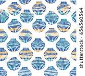 shell pattern  vector ...   Shutterstock .eps vector #656560564