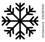 snowflake vector icon   Shutterstock .eps vector #656582560