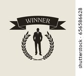winner icon   Shutterstock .eps vector #656586628
