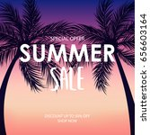 summer sale special offer...   Shutterstock .eps vector #656603164