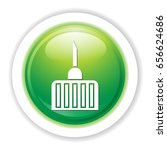 medical needle icon | Shutterstock .eps vector #656624686