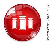 medical bottles icon   Shutterstock .eps vector #656627119