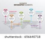 modern infographic paper...   Shutterstock .eps vector #656640718