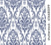 ikat ogee and damascus ornament ... | Shutterstock .eps vector #656680099