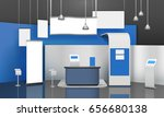 advertising exhibition stand... | Shutterstock .eps vector #656680138