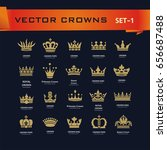 vector collection of creative... | Shutterstock .eps vector #656687488