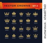 vector collection of creative... | Shutterstock .eps vector #656687560