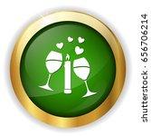 love celebration icon | Shutterstock .eps vector #656706214