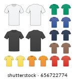 blank colored t shirt template
