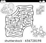 cartoon vector illustration of... | Shutterstock .eps vector #656728198