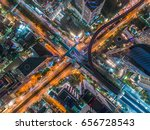 transaction beautiful road top... | Shutterstock . vector #656728543