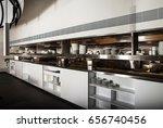 professional kitchen  view... | Shutterstock . vector #656740456