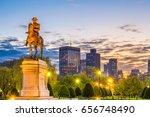 boston  massachusetts  usa... | Shutterstock . vector #656748490