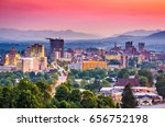asheville  north carolina  usa... | Shutterstock . vector #656752198