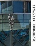 traditional street lamp in... | Shutterstock . vector #656774158