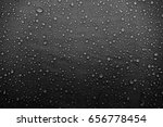 water drops on the fabric | Shutterstock . vector #656778454