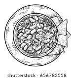 chili illustration  drawing ... | Shutterstock .eps vector #656782558