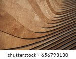wood architecture wall model... | Shutterstock . vector #656793130