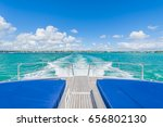 view from luxury yacht in... | Shutterstock . vector #656802130