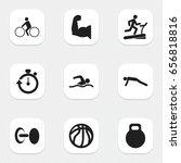 set of 9 editable exercise...