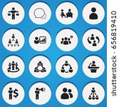 set of 16 editable team icons....