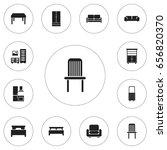 set of 12 editable furniture...
