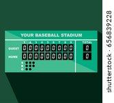 Baseball Scoreboard Vector...