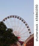 ferris wheel | Shutterstock . vector #656861050