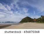 beach front view | Shutterstock . vector #656870368