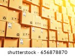 logistic and distribution... | Shutterstock . vector #656878870