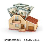 house maintenance costs and... | Shutterstock . vector #656879518