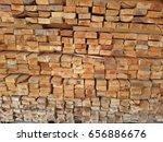 log piece of wood | Shutterstock . vector #656886676