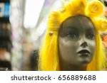 Mannequin Head Storefront