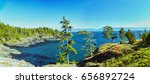 wonderful sunny day panorama... | Shutterstock . vector #656892724