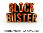 typical theater style 3d... | Shutterstock . vector #656897350
