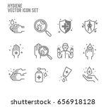 hygiene anti bacteria vector... | Shutterstock .eps vector #656918128