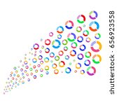 source of pie chart symbols.... | Shutterstock .eps vector #656923558