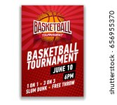 basketball tournament  modern... | Shutterstock .eps vector #656955370