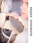 business man and woman show... | Shutterstock . vector #656966