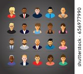 people profiles | Shutterstock .eps vector #656977990