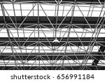 the stadium roof | Shutterstock . vector #656991184