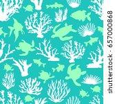blue lagoon. seamless vector... | Shutterstock .eps vector #657000868