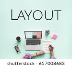 web layout template content... | Shutterstock . vector #657008683